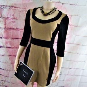Maggy London Color Block Dress 4
